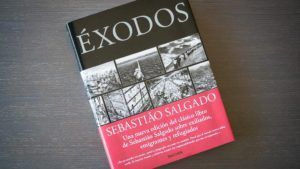Libro de Fotografía: Éxodos, Sebastiao Salgado. Portada.